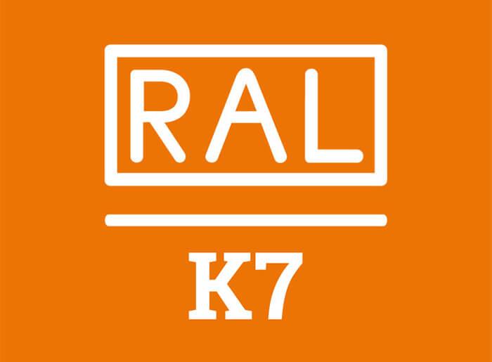 RAL K7 logo